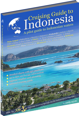 Cover of Cruising Guide Indonesia.