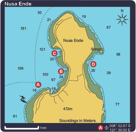 Nusa Ende Anchorage