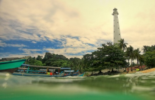 Lengkuas Lighthouse, Belitung.