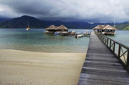 Cubadak Resort, West Sumatra.